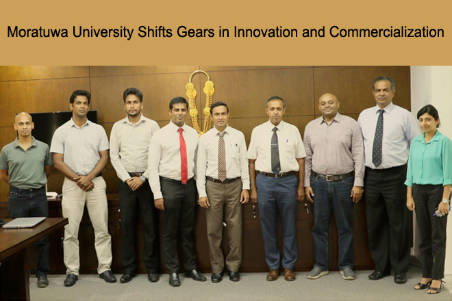 Moratuwa University shifts gears in innovation & commercialization