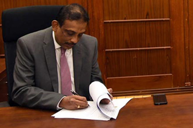 S R Attygalle appointed Secretary to the Treasury & Finance Ministry
