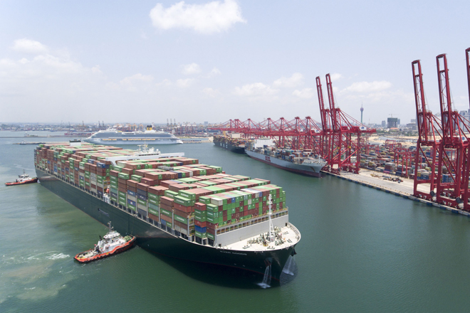CICT ends 2019 with 2.9mn TEUs, 40-pct of Colombo Port's volume