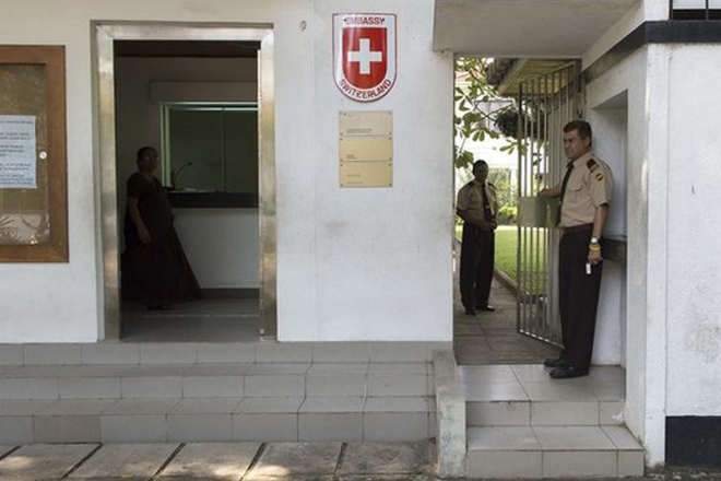 Swiss State Secretary asks SL to explain evidence against events described by embassy