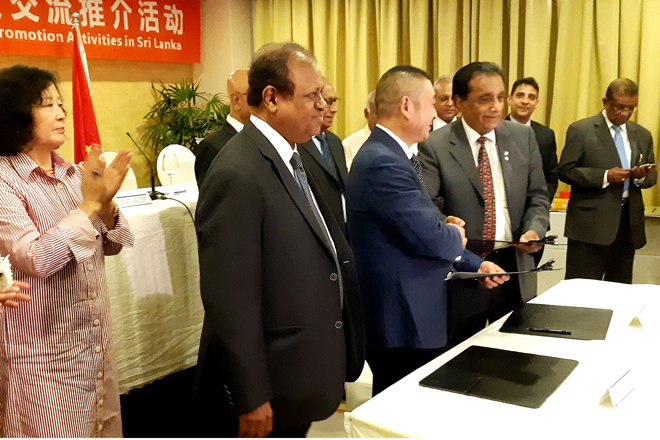 Chinese delegation to Sri Lanka inks SME pacts, clinches many B2Bs
