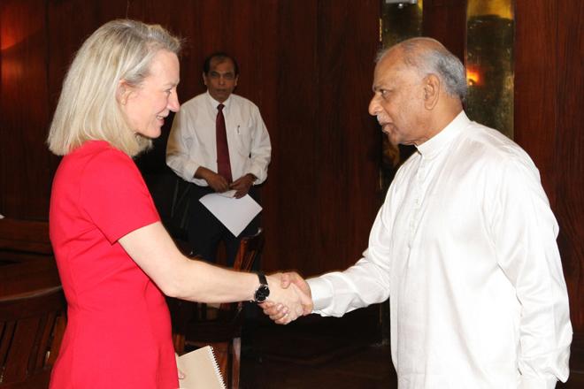 US Ambassador Wells conveys desire to build stronger relationship with Sri Lanka