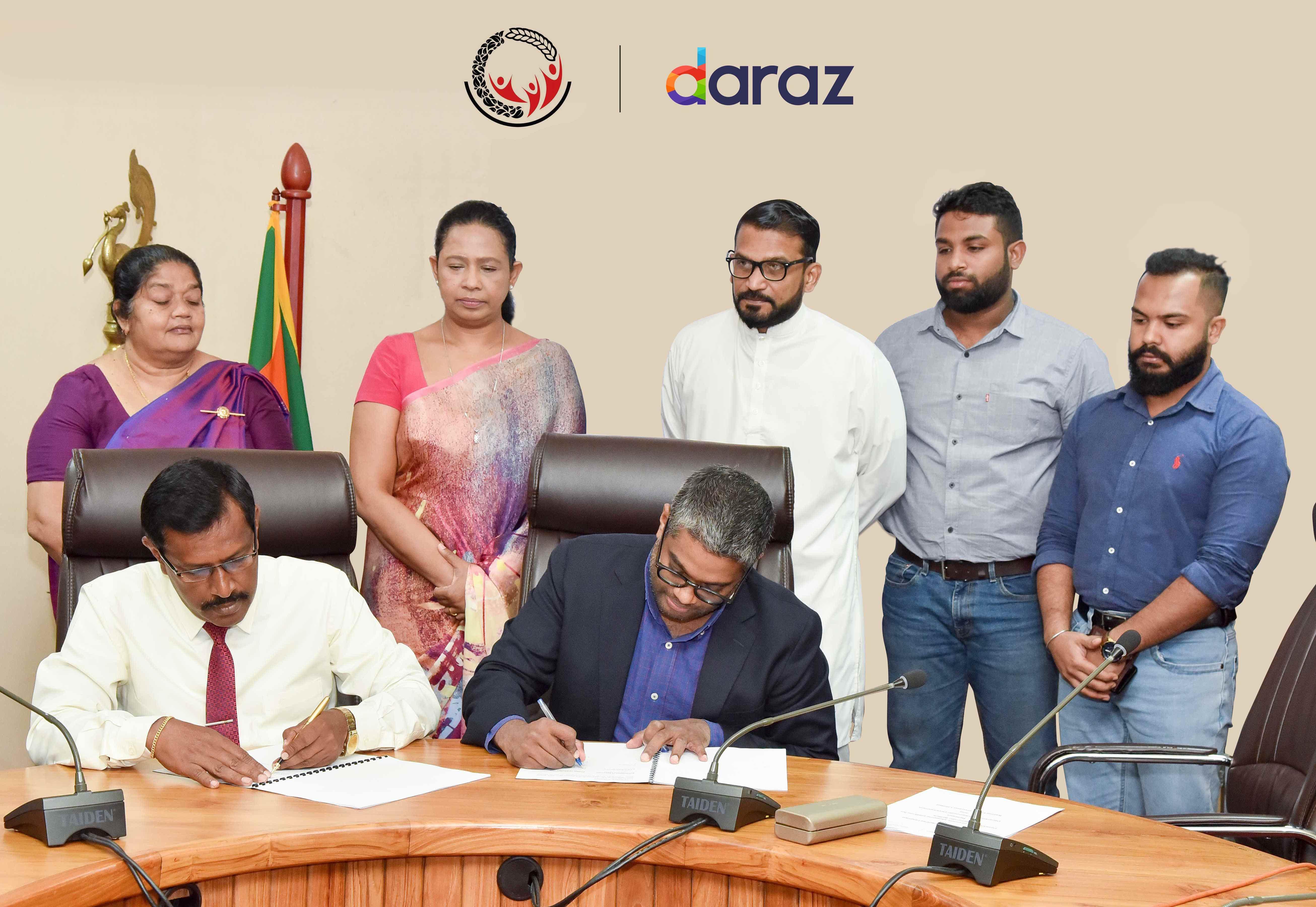 Daraz partners with department of Samurdhi development to uplift rural entrepreneurs