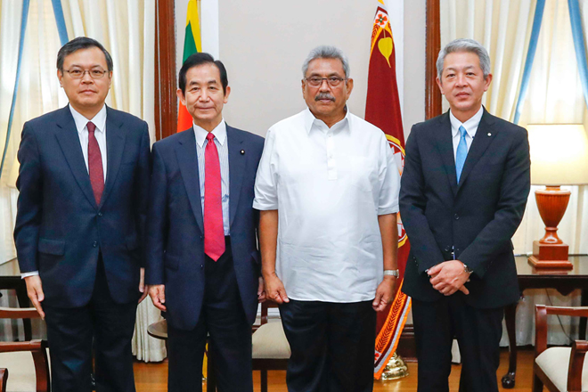 President requests Japan to invest in high tech assembly plants in Sri Lanka