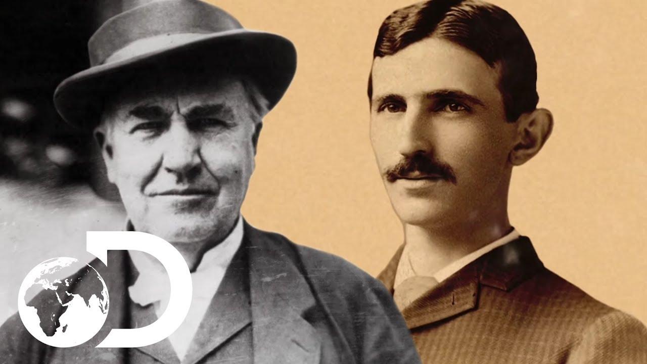 VIDEO: Thomas Edison did everything he could to stop Nikola Tesla succeeding