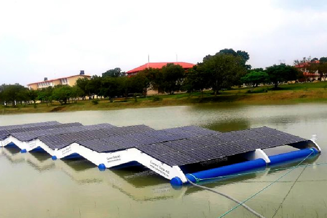 first-floating-solar-panel