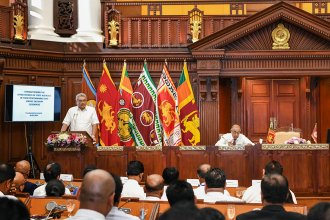 Ready to build Sri Lanka without blaming the past: President