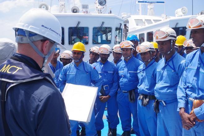 Japan strengthens Sri Lanka Coast Guard's oil spill combat expertise