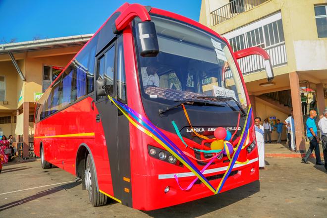 SLTB deploys 16 luxury buses to operate Hambantota – Colombo expressway