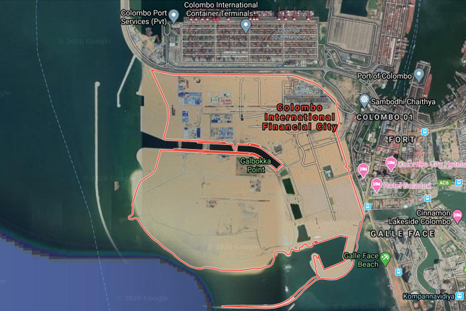 Construction of building complex in Colombo Port City to start by mid-2020