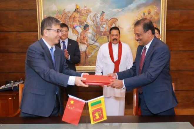 China grants USD500mn concessionary loan to Sri Lanka