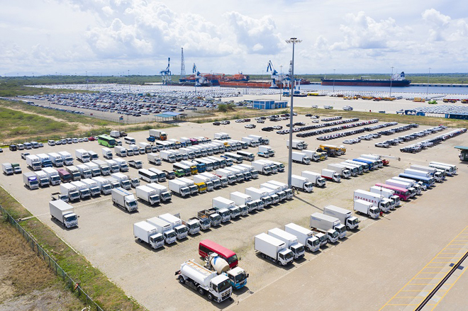 Hambantota Port urges importers to clear vehicles without delay