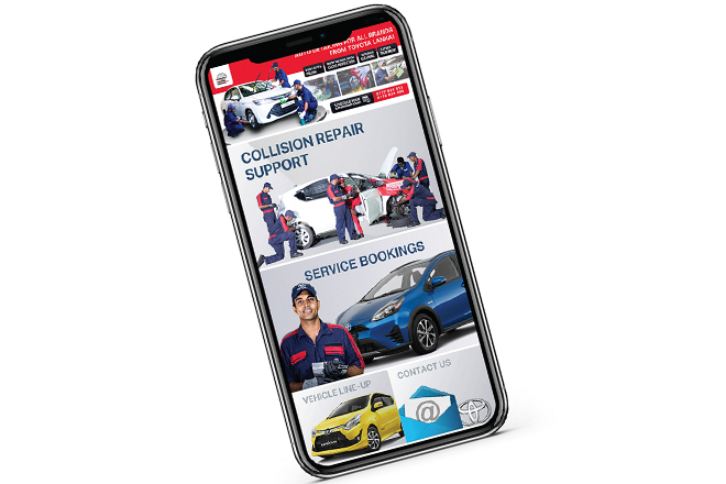 Toyota Lanka goes digital with Toyota Sure & improved Service App