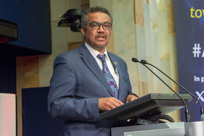 President urges WHO to pursue IMF & WB debt moratorium or debt re-profiling