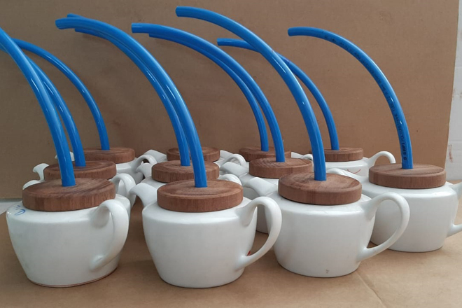 Dankotuwa Porcelain makes steam inhalers fit for homes & healthcare establishments