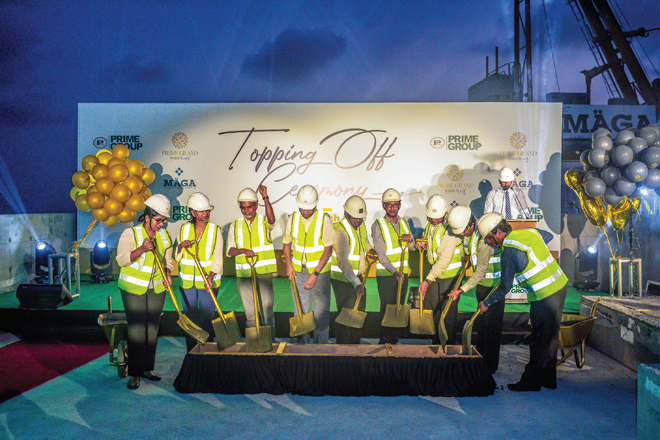 Prime Grand resumes construction aligned with health protocols