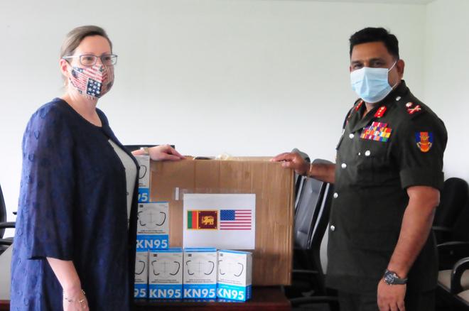 US donates equipment for Sri Lanka's frontline responders to COVID-19