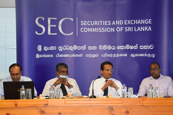 SEC continues engaging with capital market stakeholders