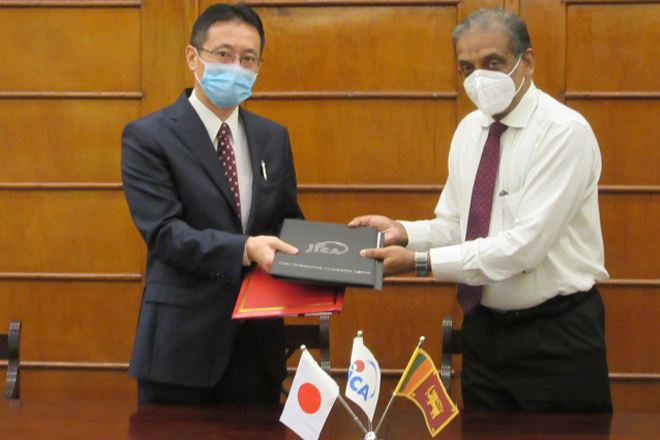 JICA grants Rs. 463mn to assist human resource development of public sector