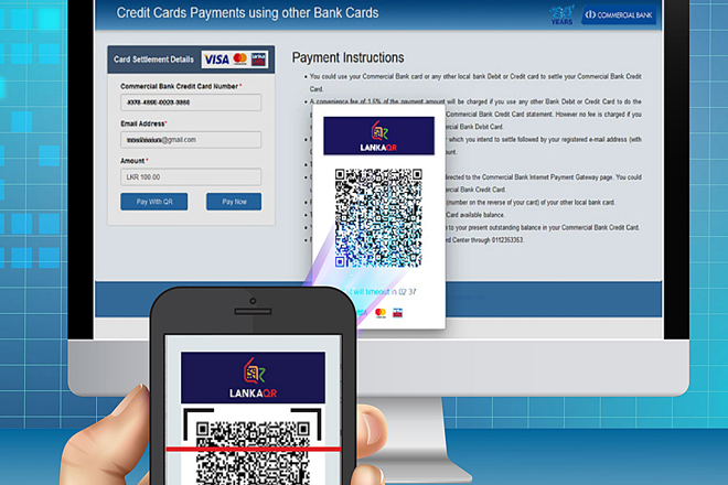 ComBank introduces first QR-enabled payment option for Credit Cards in Sri Lanka