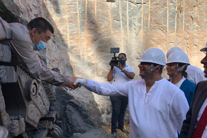 Digging of new Mutwal Storm Water Drainage Tunnel completed helping Colombo flood control