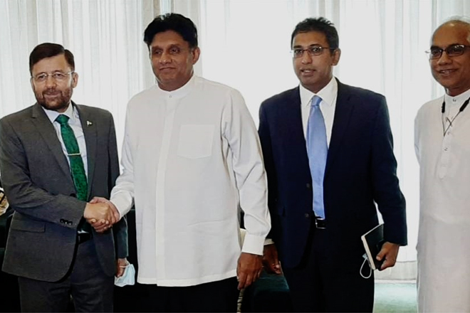High Commissioner of Pakistan met with Leader of Opposition