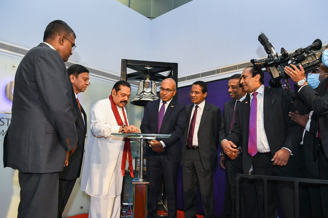 Colombo Stock Exchange marks the digitalization of Sri Lankan stock market