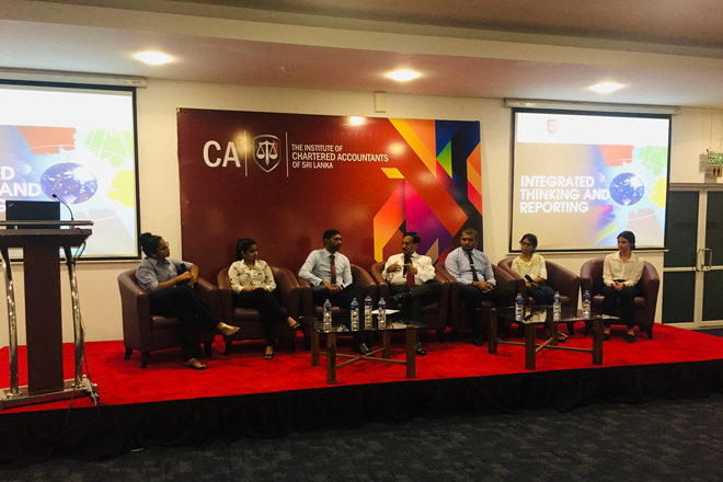 CA Sri Lanka continues to push companies to adopt integrated reporting
