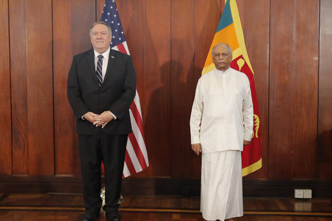 We want a sovereign Sri Lanka; quite contrast to what China seeks: US Secretary of State