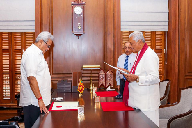 New Cabinet Minister & State Minister sworn in