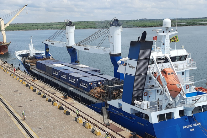 Hambantota International Port helps ease congestion at Colombo Port
