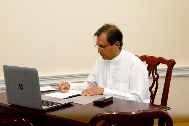 Ambassador Aryasinha assumes duties in Washington D.C.