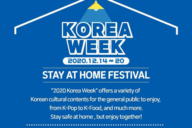 Korea Week 2020 – Stay At Home Festival