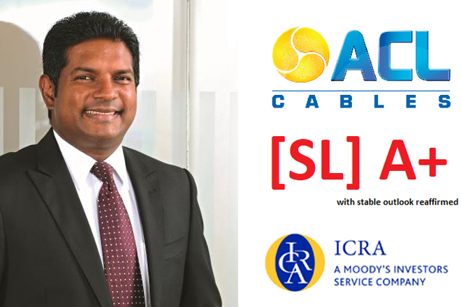 ACL Cables showcases strong financial position; achieves (SL) A+ credit rating