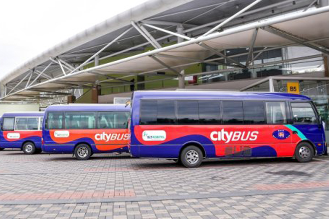 Park & Ride bus service to ease traffic congestion launched