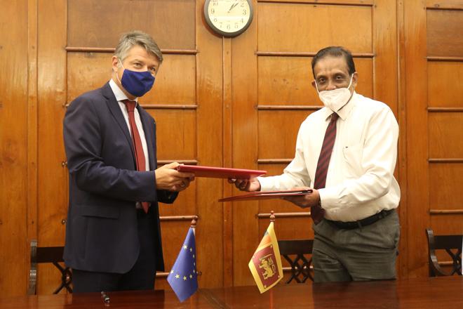 European Union provides LKR 8.26 billion in grants to Sri Lanka