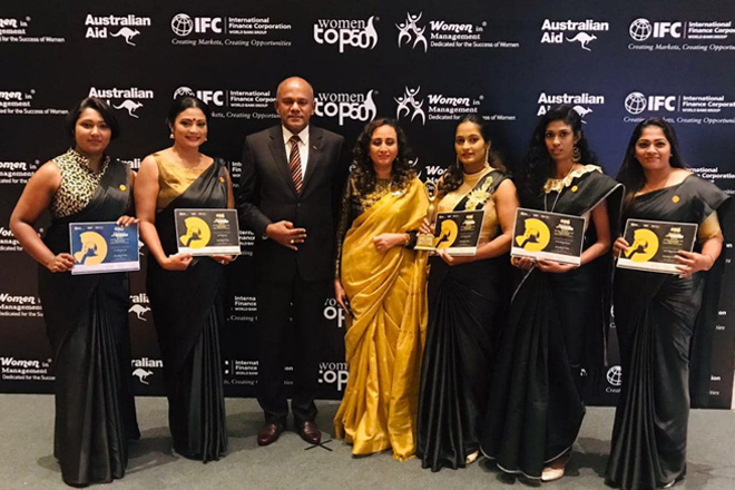 South Asia's first-ever all-female gantry crane operator team at SLPA receives Excellence Award