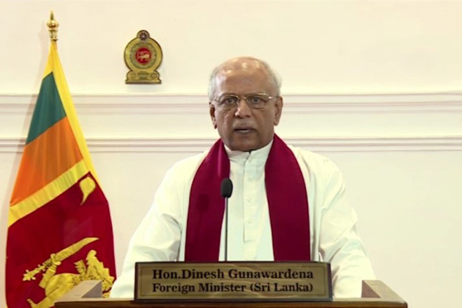 Allegations made against SL at Human Rights Council are politically biased: FM Dinesh