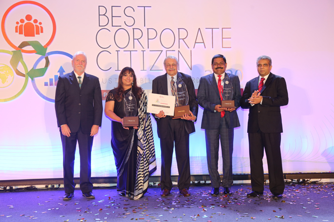 CBL Investments Limited wins 'Best Corporate Citizen Sustainability Award 2020'