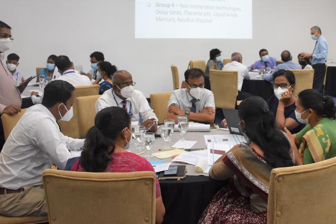 National Action Plan for healthcare waste management in Sri Lanka