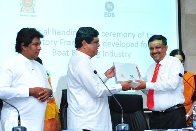 Regulatory framework to develop boat building industry presented to implementing agencies