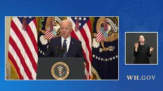 VIDEO: US President Joe Biden's first formal news conference since taking office