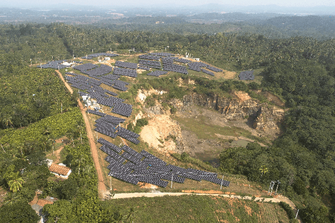 Panasian Power commissions solar power project worth Rs. 420Mn