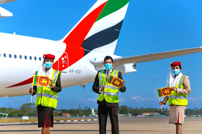 Emirates celebrates 35 years of service to Colombo
