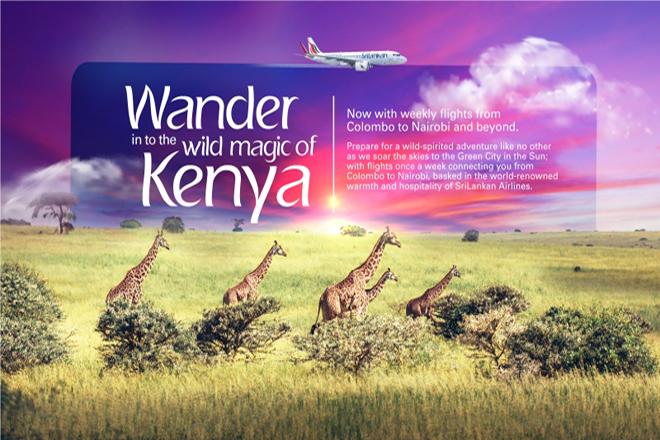SriLankan Airlines launches flights to Nairobi