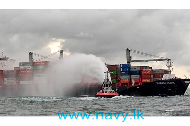 Number of measures to minimize damage to marine ecosystem from MV X- Press Pearl Vessel