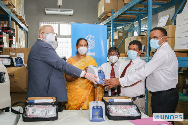 Provision of essential Medical Equipment for COVID-19 centres in Sri Lanka