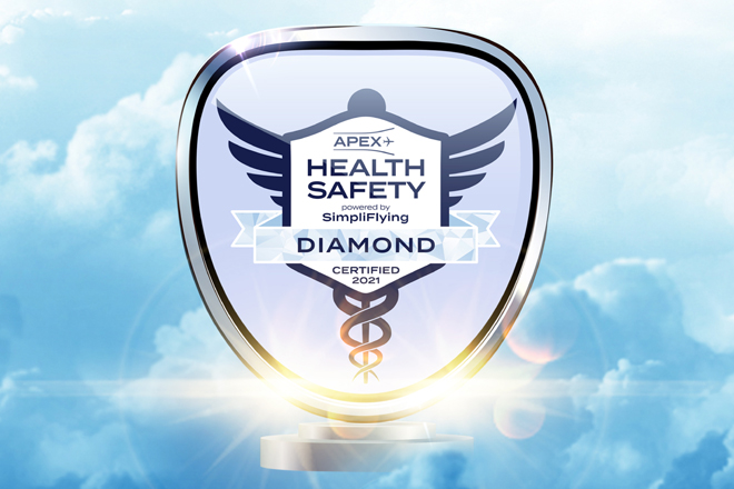 """SriLankan Airlines upgraded to """"Diamond"""" standard in Health Safety audit"""