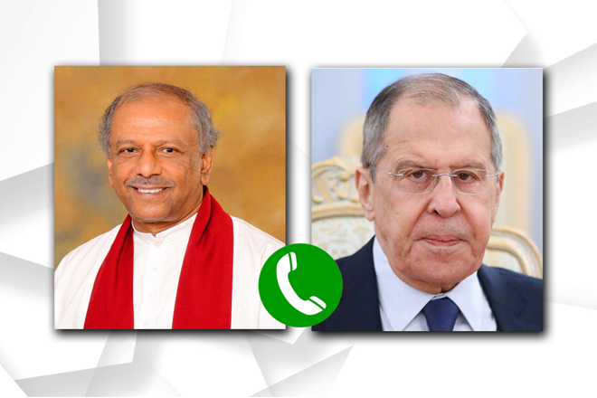 Foreign Minister appreciates Russia's support in conversation with Foreign Minister Lavrov