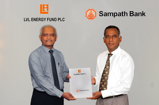 Sampath Bank concludes Rs.750Mn structuring & investing in LVL Energy Fund's unlisted bond